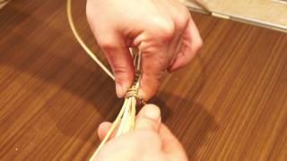 Русская ива. Урок 9. Плетение