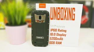 Oukitel WP5000 UNBOXING | Rugged | IP68 Rating | 6GB RAM | 5200mAh Battery