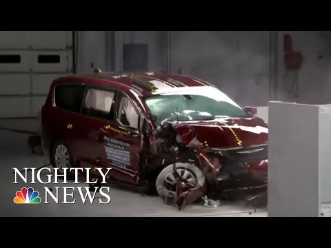 New Crash Safety Test Raises Concerns About Toyota Sienna | NBC Nightly News