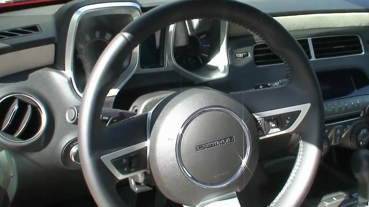 2010 Chevrolet Camaro Interior In HD YouTube