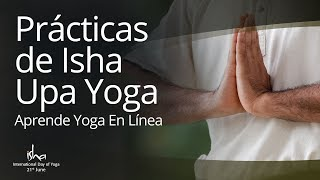 Gambar cover Prácticas de Isha Upa Yoga (Spanish/Español): Aprende yoga en línea