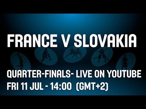 France v Slovakia -- Quarter-Finals-- 2014 U20 European Championship Women