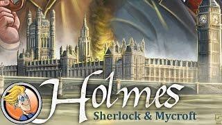 Holmes: Sherlock & Mycroft — game overview at SPIEL 2016 by Devir