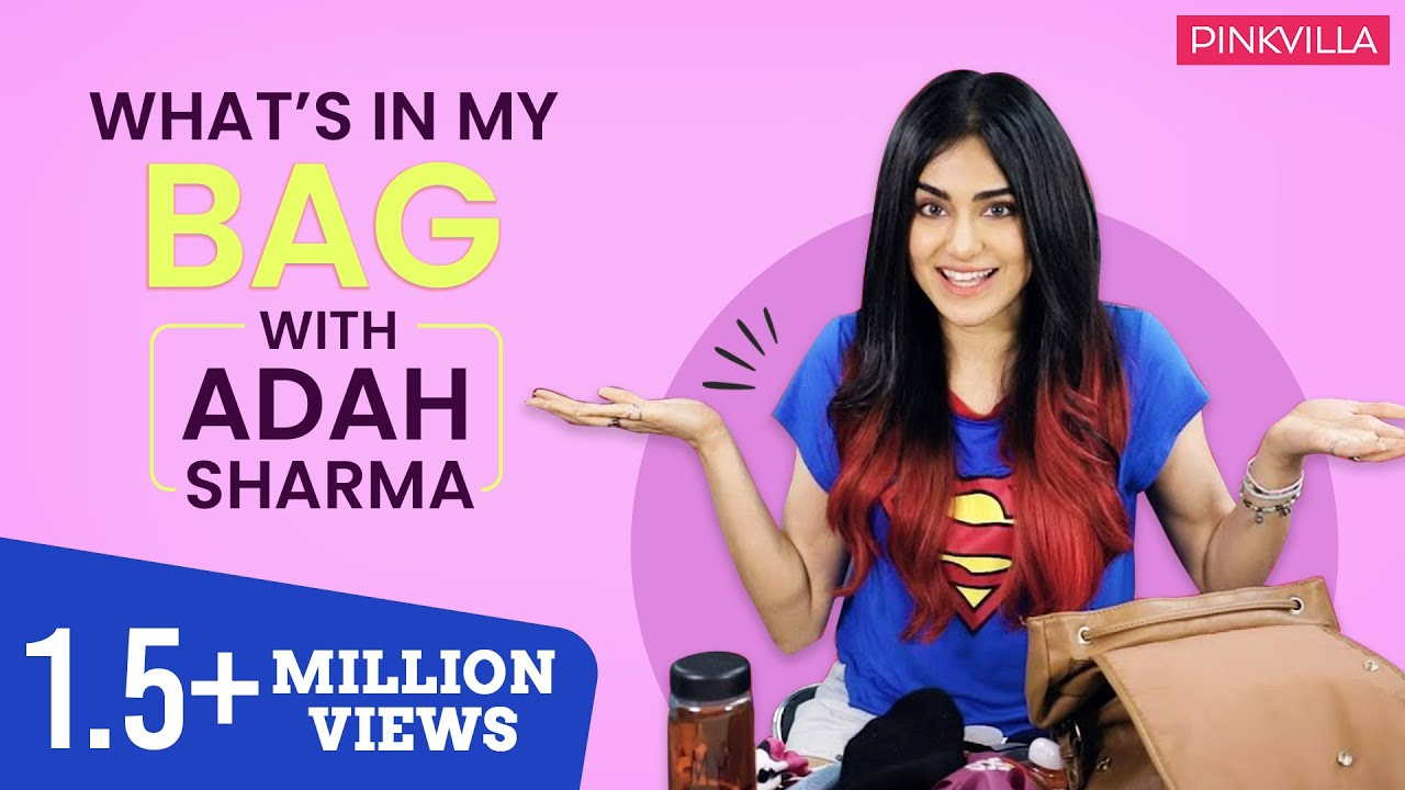 What's in my bag with Adah Sharma | Pinkvilla | S01E03 | Bollywood | Lifestyle