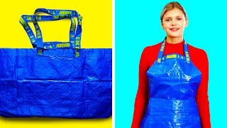 22 WAYS TO TURN PLASTIC BAGS INTO CRAZY AND USEFUL THINGS