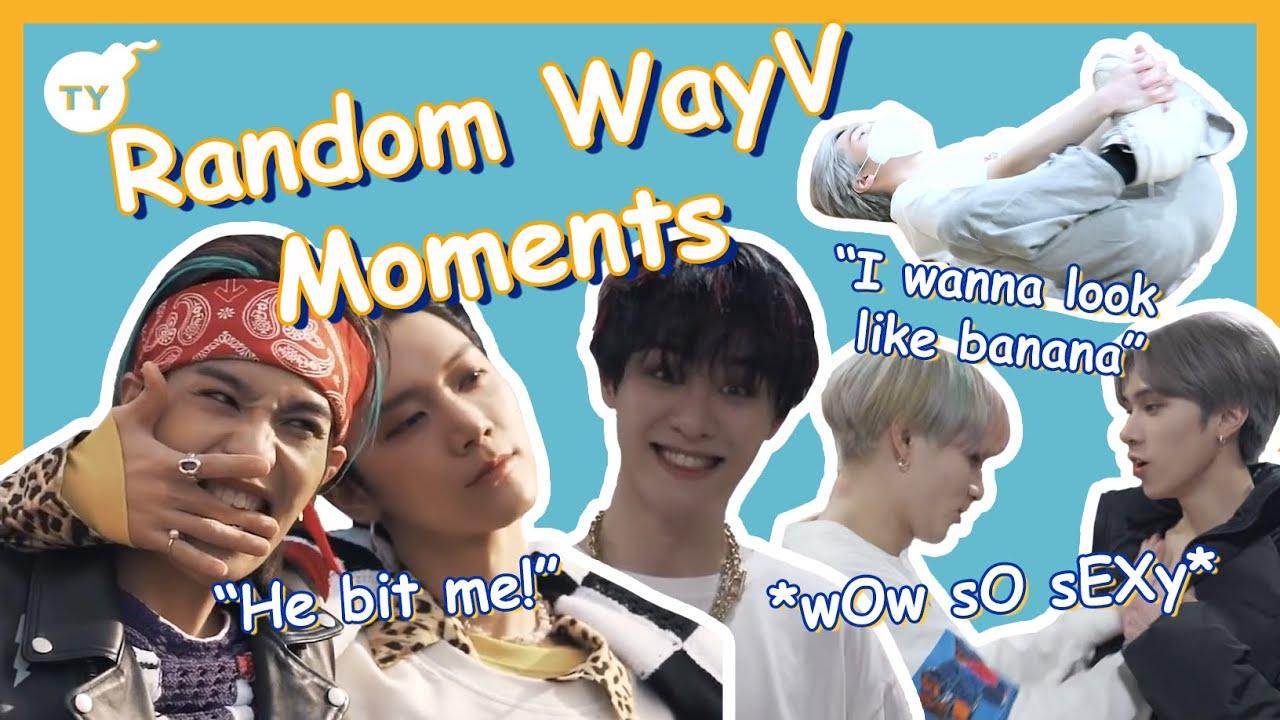 Random WayV moments   2021 Kick back era