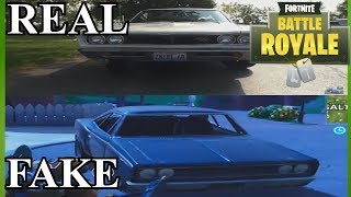 Fortnite Cars In Real Life