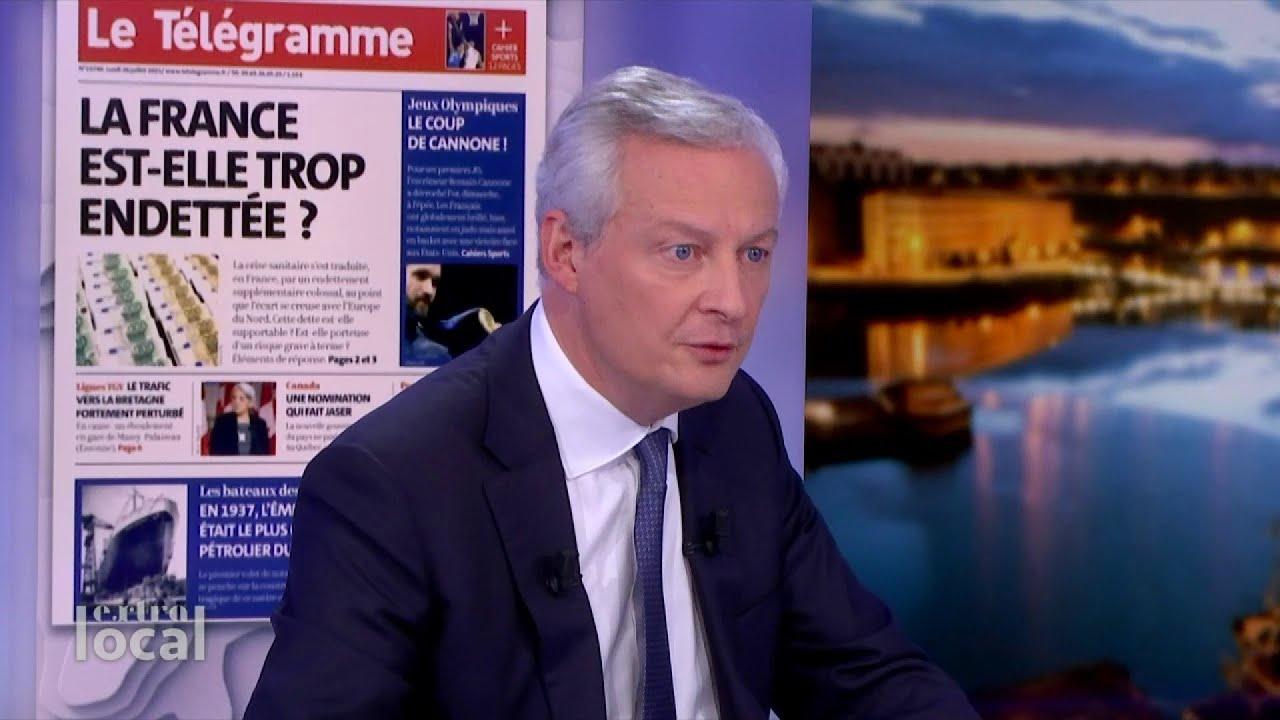 """Download """"Le moment venu nous aurons besoin d'une réforme des retraites."""" Bruno Le Maire"""