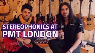 Dagan meets Adam Zindani from Stereophonics at PMT London 2017