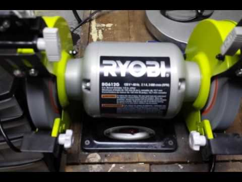 Cheap 6 Quot Bench Grinder Review Comparison Ryobi Vs Central