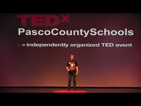 TEDx Talks: Dav Pilkey: ADHD to Artistry   Elias Watson   TEDxPascoCountySchools