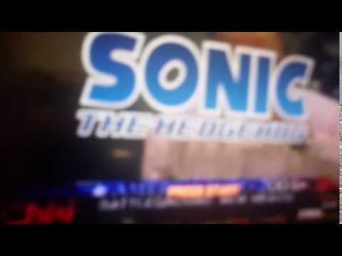 Sonic The Hedgehog 2006 - CNN Wrong Title Screen