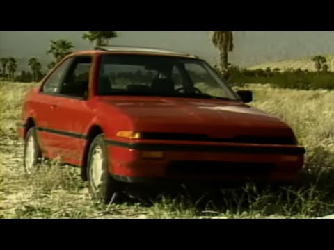 MotorWeek | Retro Review '86 Acura Legend and Integra - YouTube