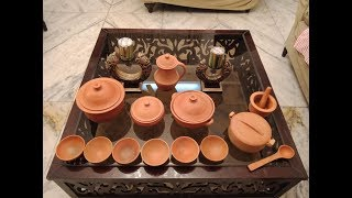 Handmade clay vessels beauty of our house | Like and Share this thought 🙏🙏