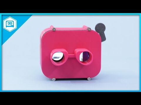 PyPortal View Master SlideShow #CircuitPython #3DPrinting