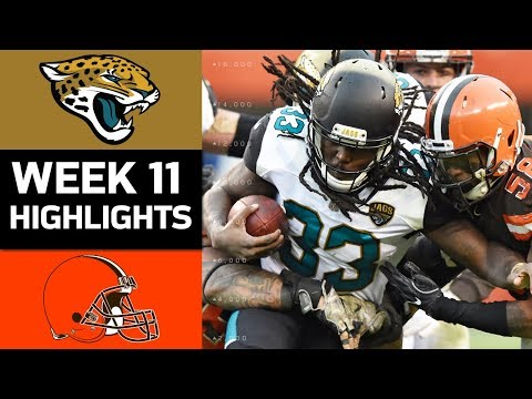 Jaguars vs. Browns | NFL Week 11 Game Highlights