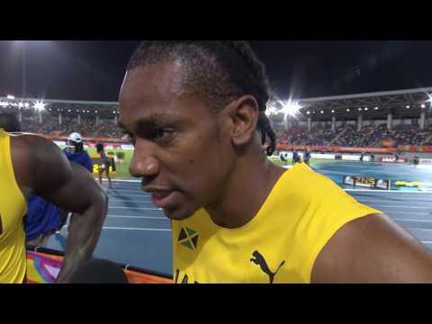 IAAF/BTC World Relays Bahamas 201 - 4X200m Men Team Jamaica Bronze