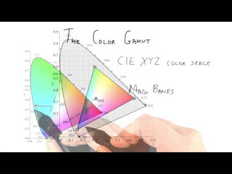 The Color Gamut - Interactive 3D Graphics