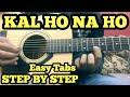Kal Ho Naa Ho Guitar Tabs Lead Lesson Har Ghadi Badal Rahi Hai Srk FuZaiL Xiddiqui mp3