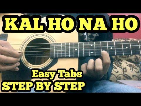 Kal Ho Naa Ho Guitar Tabs/Lead Lesson | Har Ghadi Badal Rahi Hai ...