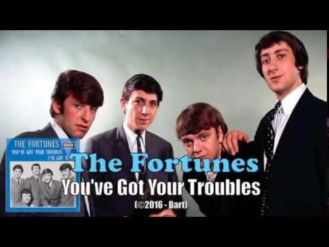 The Fortunes - You've Got Your Troubles (Karaoke)