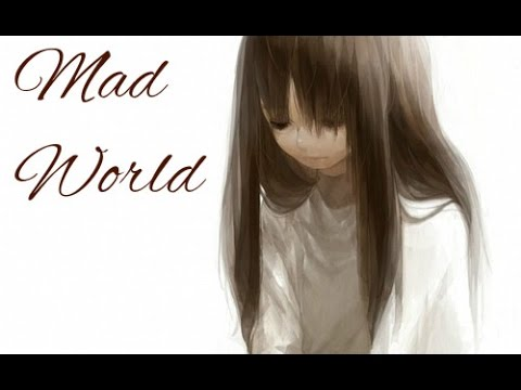 【Nightcore】 - Mad World Female Cover w/