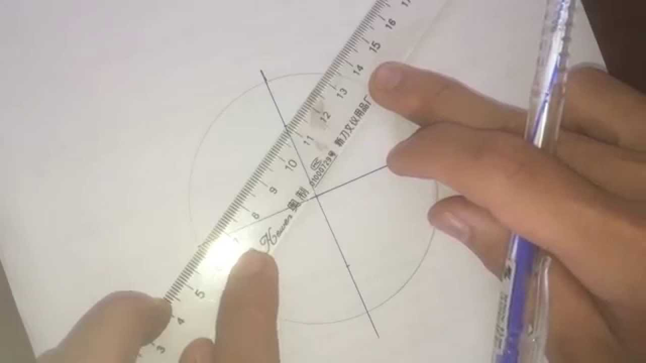Vẽ elip bằng thước và compa