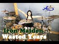 Wasted Years drum cover by Ami Kim (#55)
