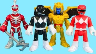 Imaginext Mighty Morphin Power Rangers Save The Imaginext Fire Station From Goldar And Zedd