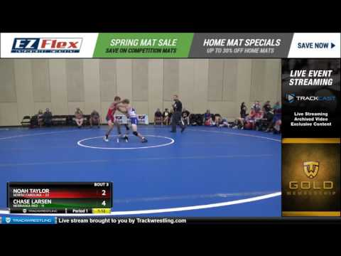 113 Noah Taylor North Carolina vs Chase Larsen Nebraska Red 8447571104
