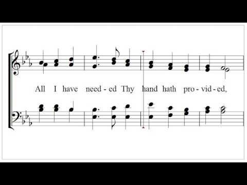 Great is thy faithfulness (Thomas Chisholm,1866,  William M. Runyan, 1870)