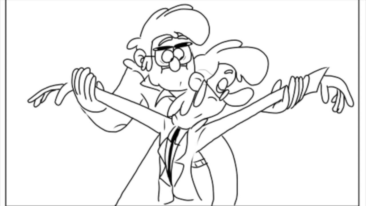 Ford And Fiddleford Fusion Dance Gravity Falls Steven