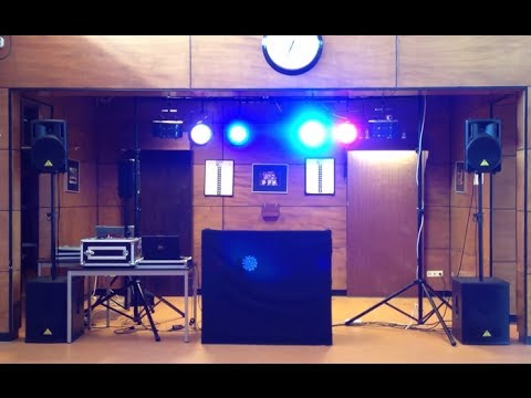 Setting up a pa for dummies