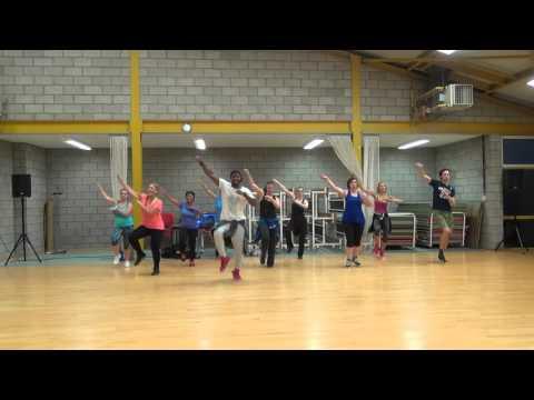 Electrica by Wisin & Yandel Zumba choreo