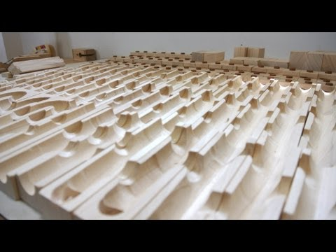 Marble toy part 1: Ramp blocks