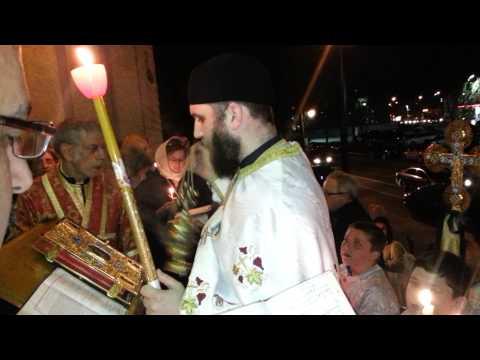 Pascha Liturgy Saint Nicholas Antiochian Orthodox Church Montreal