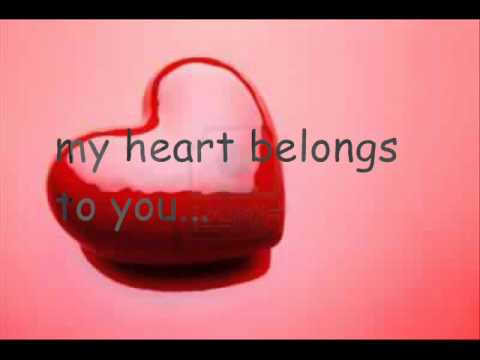My Heart belongs to you   Peabo Bryson with lyric ruado