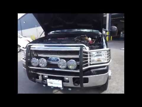 sold.2006 FORD F - 350 SUPER DUTY CREWCAB KINGRANCH FX4 4X4 6.0 DIESEL ONE OWNER DRW CALL 888-653-8056