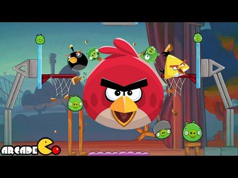Angry Birds Basketball