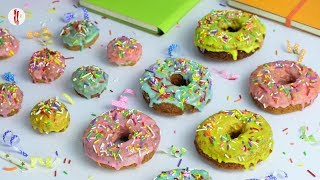 No Yeast Donuts by Food Fusion Kids