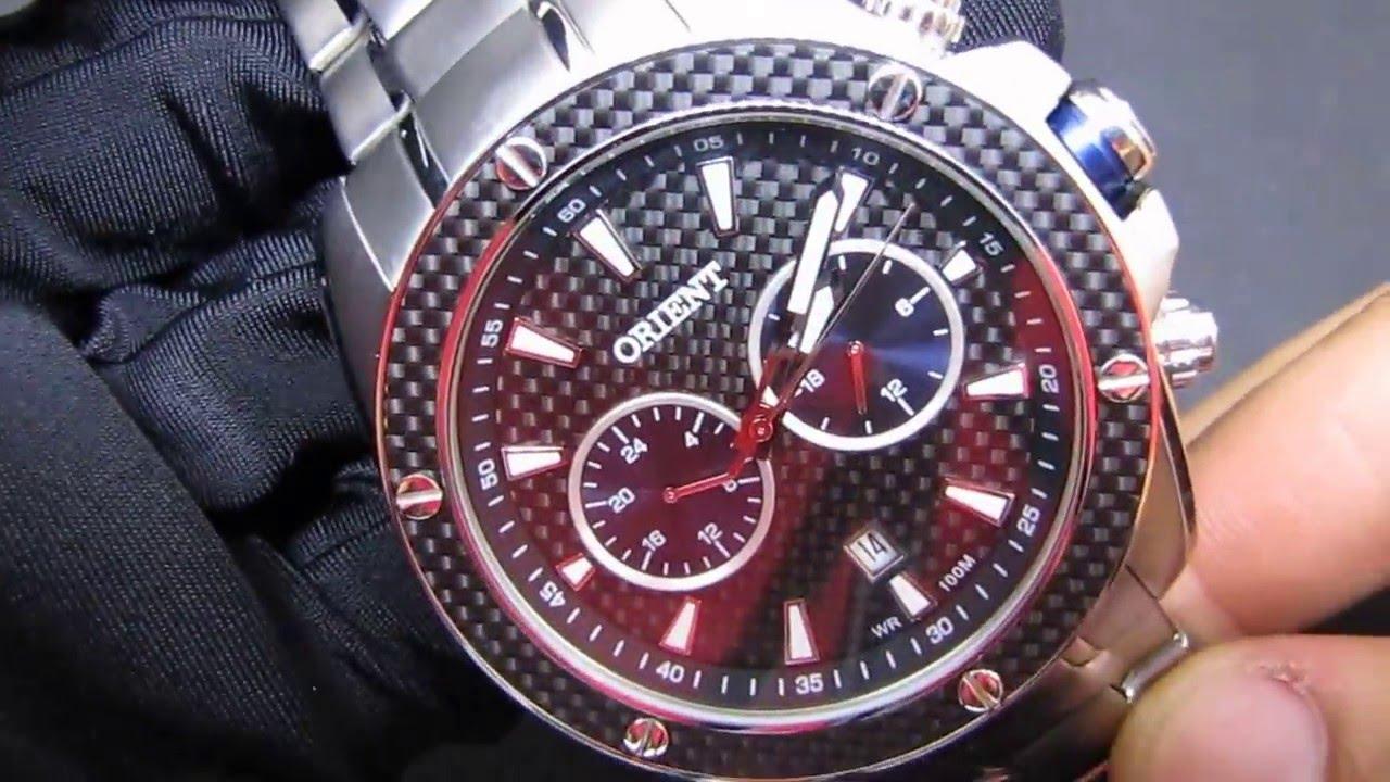 REVIEW  Relógio Masculino Orient MBSSM075 Esportivo em Aço Grande - YouTube 143cab94c3