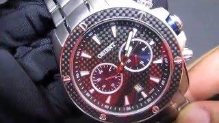 c1aae7ef051  REVIEW  Relógio Masculino Orient MBSSM075 Esportivo em Aço Grande