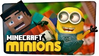Minions meet Minecraft (3D Animation)