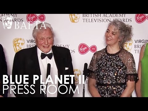 David Attenborough & Blue Planet II Crew on Virgin TV's Must-See Moment Win | BAFTA TV Awards 2018