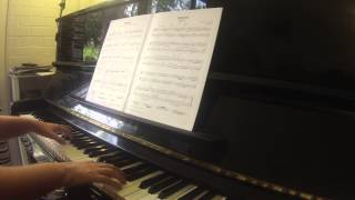 Polonaise BWV Anh  128 from Notebook for Anna Magdalena Trinity College London piano grade 3 2012 20