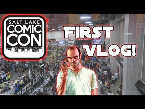 Our First Vlog! | Meeting Steve Ogg at Salt Lake Comic-Con!