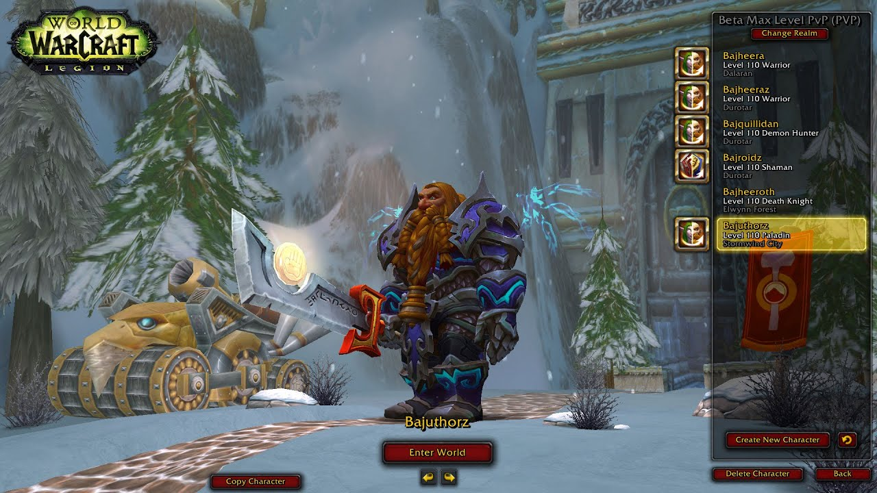"WoW: Legion (Beta) - MOST OP RET PALLY TALENT: ""EQUALITY ..."