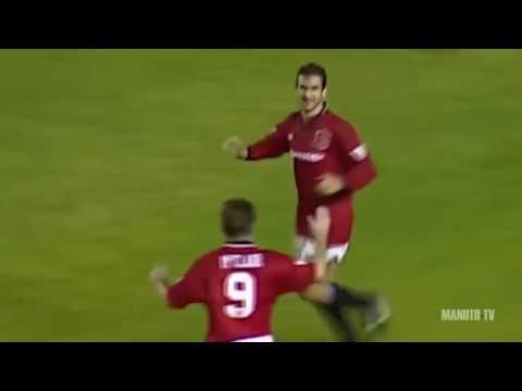 Eric Cantona all goals for Man United