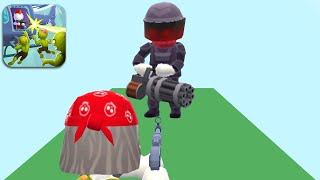 HELICOPTER ESCAPE 3D - Walkthrough Gameplay Part 2 - BOSS DESTROYE (iOS Android) screenshot 4