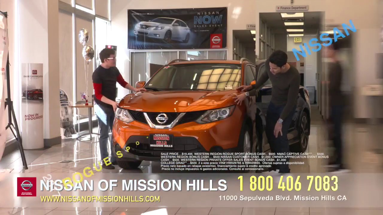 Nissan Of Mission Hills Spanish Spot MARCH